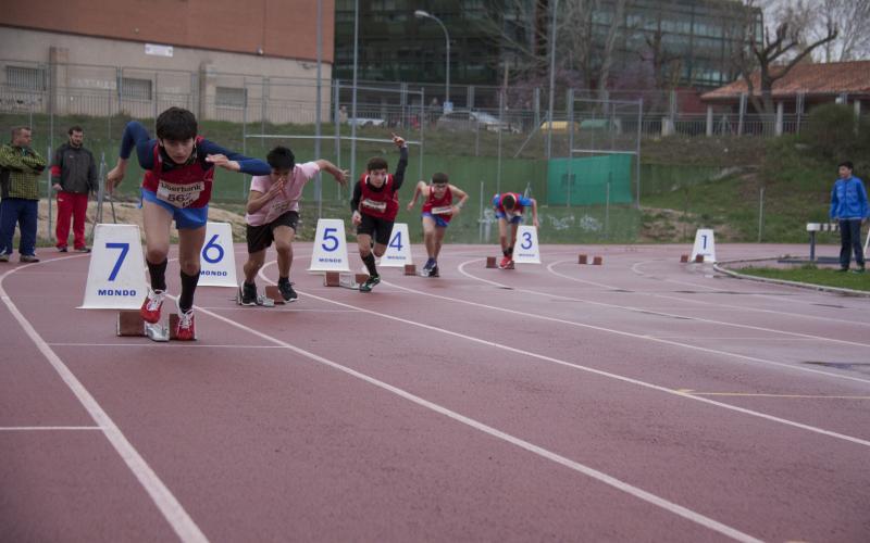 Campeonato Provicial de Atletismo. Cuenca.