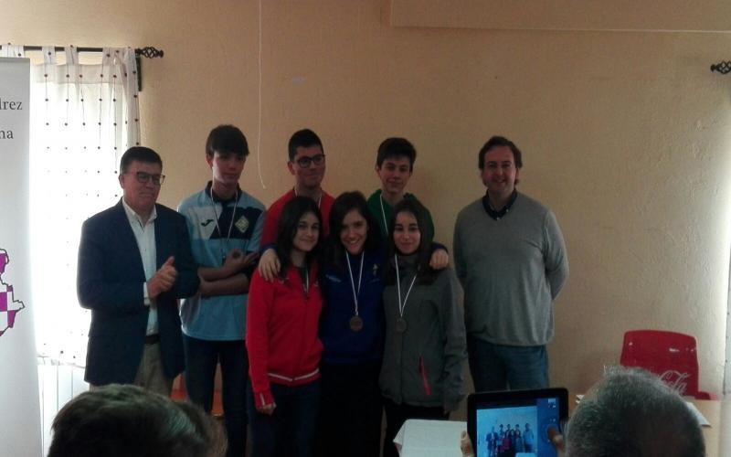 Equipo mixto cadete de Castilla-La Mancha