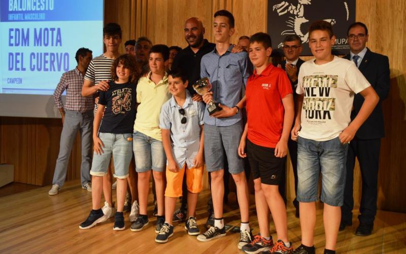 """Gala  """" Somos deporte 3-18 """" de Cuenca"""