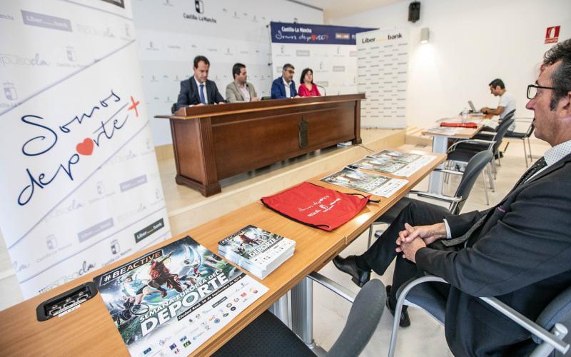 Presentación de Semana Europa en Ciudad Real