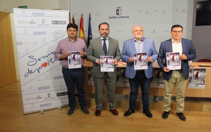 presentación actividades Semana Europea Deporte Albacete