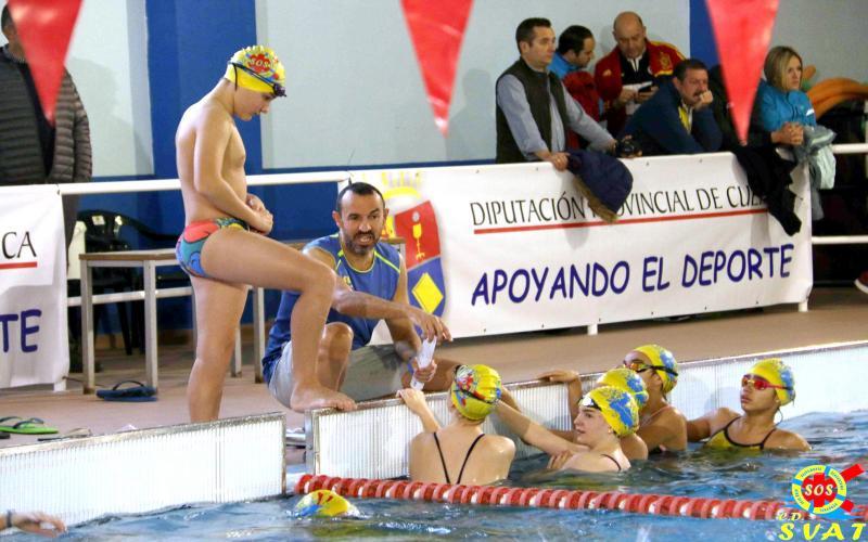 Primera jornada CRDEE Natación . Fase Provincial Cuenca.