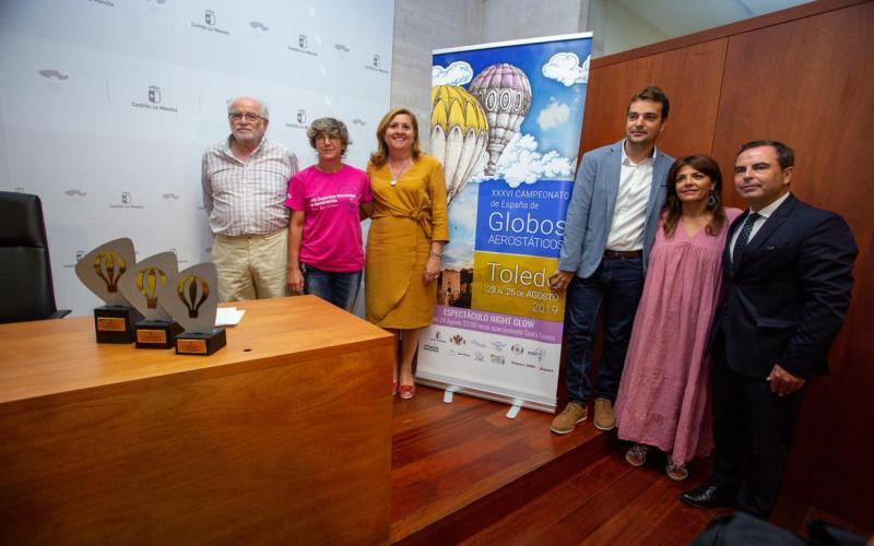 Presentación Campeonato de España de Aeroestación