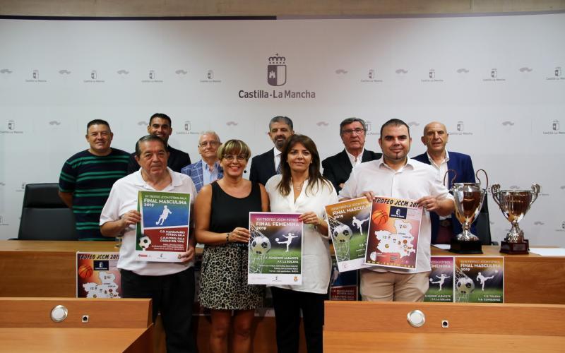 Presentación finales Trofeos JCCM
