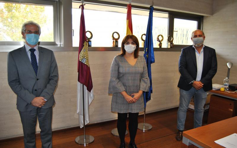 Recepción a federación de Pádel española y castellano-manchega