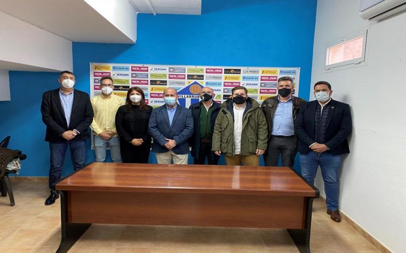 DGJyD en partido Formac Villllarubia CF-Atletico Madrid B