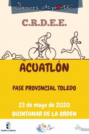 Cartel Fase Provincial de Triatlón - Jornada 2
