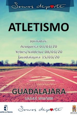 FASE PROVINCIAL DE ATLETISMO GUADALAJARA