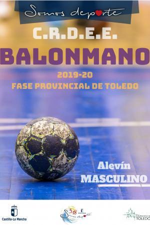 Cartel Fase Provincial de Balonmano - Alevín Masculino