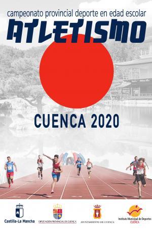 Cartel Fase Provincial de Atletismo Cuenca