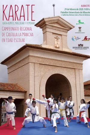 Cartel Campeonato Regional de Karate