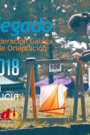 cartel Campeonato de España de Orientación en edad escolar