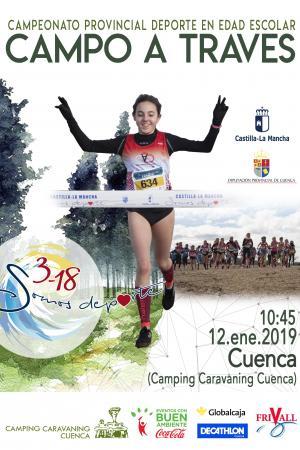 Cartel Cross Tercera Jornada (Camping Caravaning Cuenca)