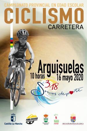 Cartel Ciclismo. Arguisuelas (Cuenca)