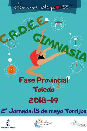 C.R.D.E.E. Gimnasia Rítmica Fase Provincial Toledo 2018-19 - Jornada 2