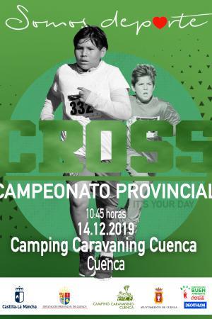 Cartel Cross 2ª Jornada. Camping Caravaning (Cuenca)