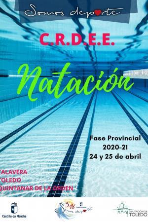 Cartel Fase Provincial de Natación - 1ª Jornada