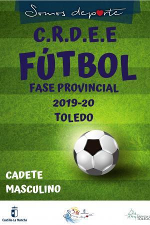 Cartel Fase Provincial de Fútbol - Cadete Masculino