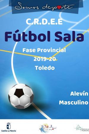 Cartel Fase Provincial de Fútbol Sala - Alevín Masculino