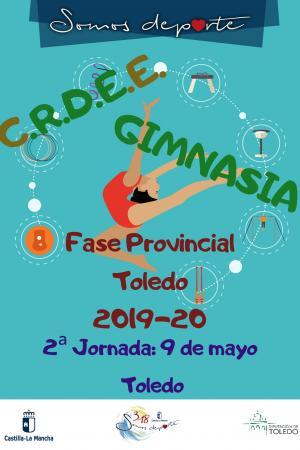 Cartel Fase Provincial de Gimnasia Ritmica Toledo / Toledo - 2ª Jornada