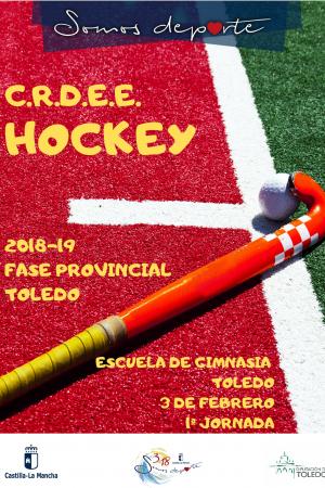 C.R.D.E.E. Hockey Fase Provincial Toledo 2018-19 - Jornada 1