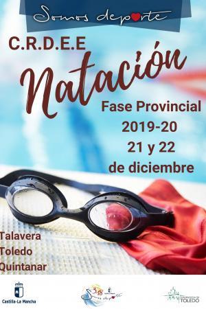 Cartel Fase Provincial de Natación - 2ª Jornada