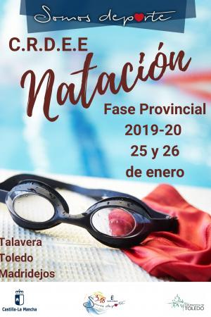 Cartel Fase Provincial de Natación - 3ª Jornada