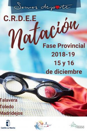 C.R.D.E.E. Natación Fase Provincial Toledo 2018-19 - Jornada 2