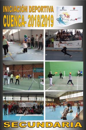 Cartel Iniciación Deportiva Cuenca - Educación Secundaria.