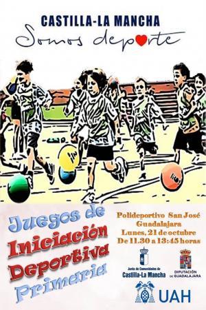 Juegos de iniciación deportiva primaria Guadalajara