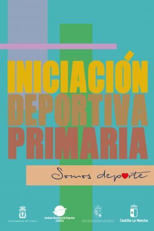 Cartel Iniciación Deportiva Primaria.