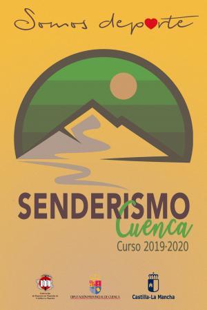Cartel Senderismo. Curso 2019-2020