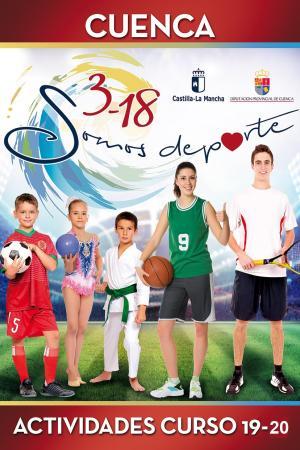 Cartel Actividades 16-18 Cuenca. Curso 2019 - 2020