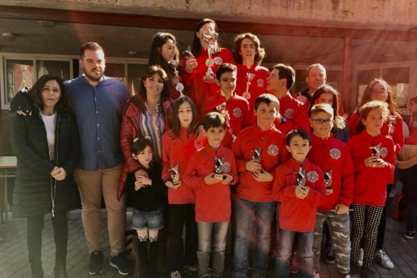 C.R.D.E.E. Ajerdrez Fase Provincial Toledo 2018-19 - 4ª Jornada