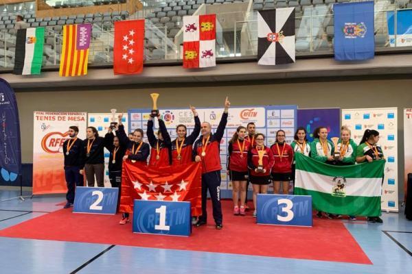 Campeonato de España tenis de mesa infantil, cadete e inclusivo