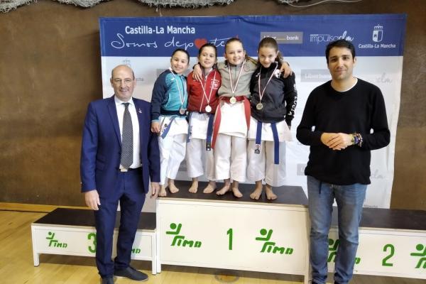 Campeonato Regional de Kárate en edad escolar