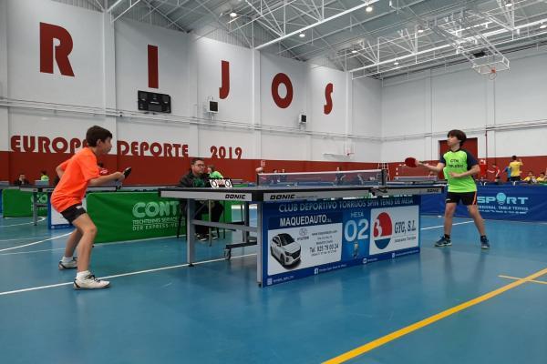 4ª Jornada Campeonato Provincial Tenis de Mesa Toledo
