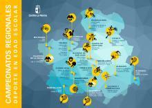 Campeonatos Regionales de deporte en edad escolar 2019